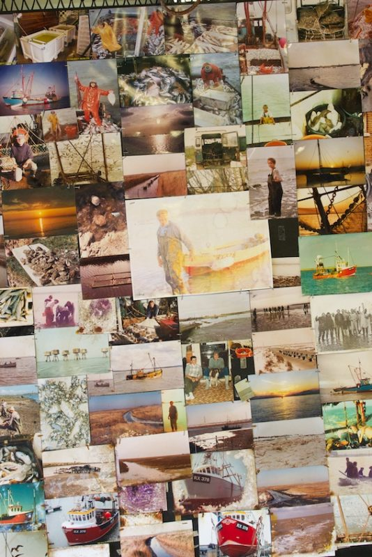 A collection of photos at Bluey Walpole's Fisherman Yard, Hollowshore Fisheries, Oare, Faversham