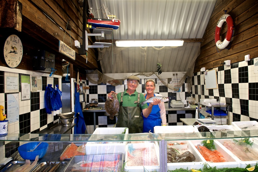Hollowshore Fisheries, Oare, Faversham Photo ©Lisa Valder