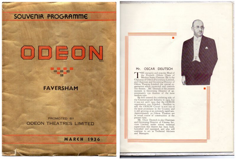 The Royal Cinema Faversham Kent Archive Material