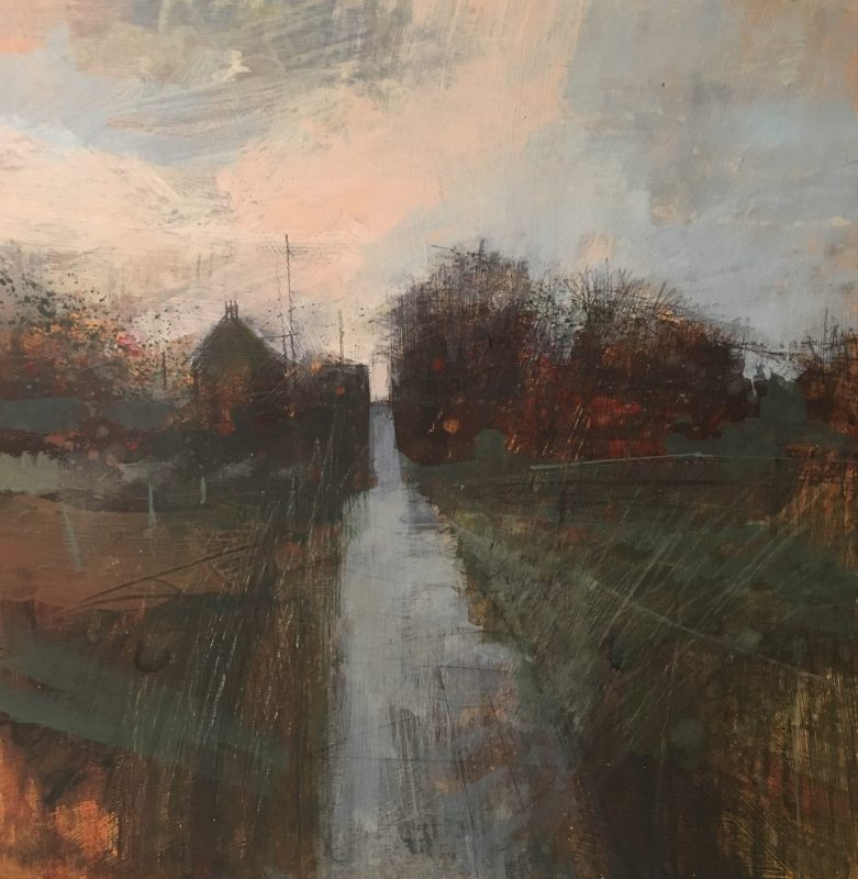'Harty Ferry Cottages' Royal Society of British Artists Exhibition