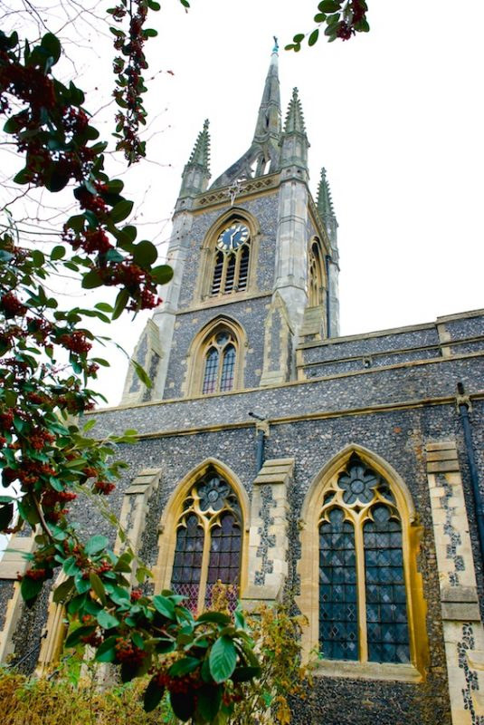 Architecture, St Mary's Church, Faversham