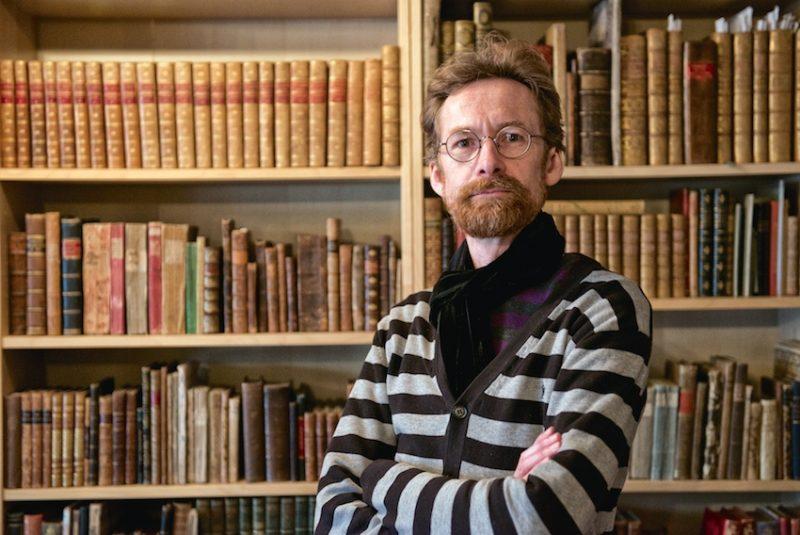 Antiquarian bookseller, Justin Croft