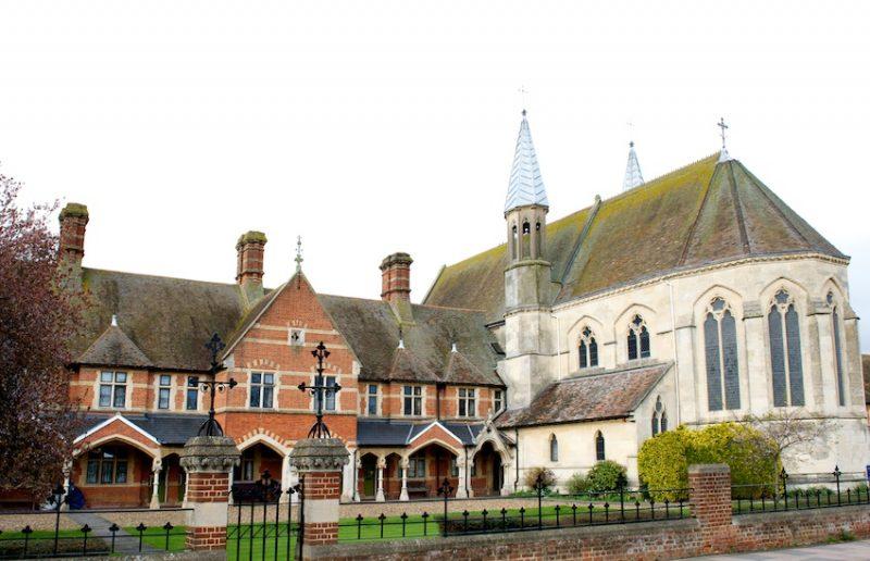 Victorian Almshouses in Faversham, Kent