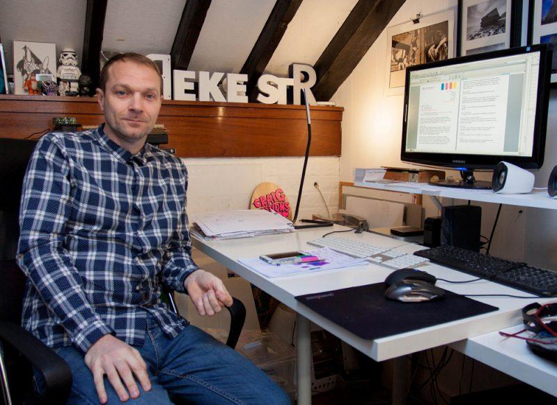 Kent Creative Live Show: Neil Brown, Faversham Life's web designer, Beamtwenty3