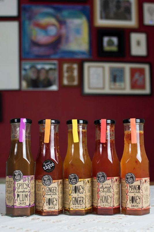 Mighty Fine Things: Locally produced sauces in Faversham, Kent