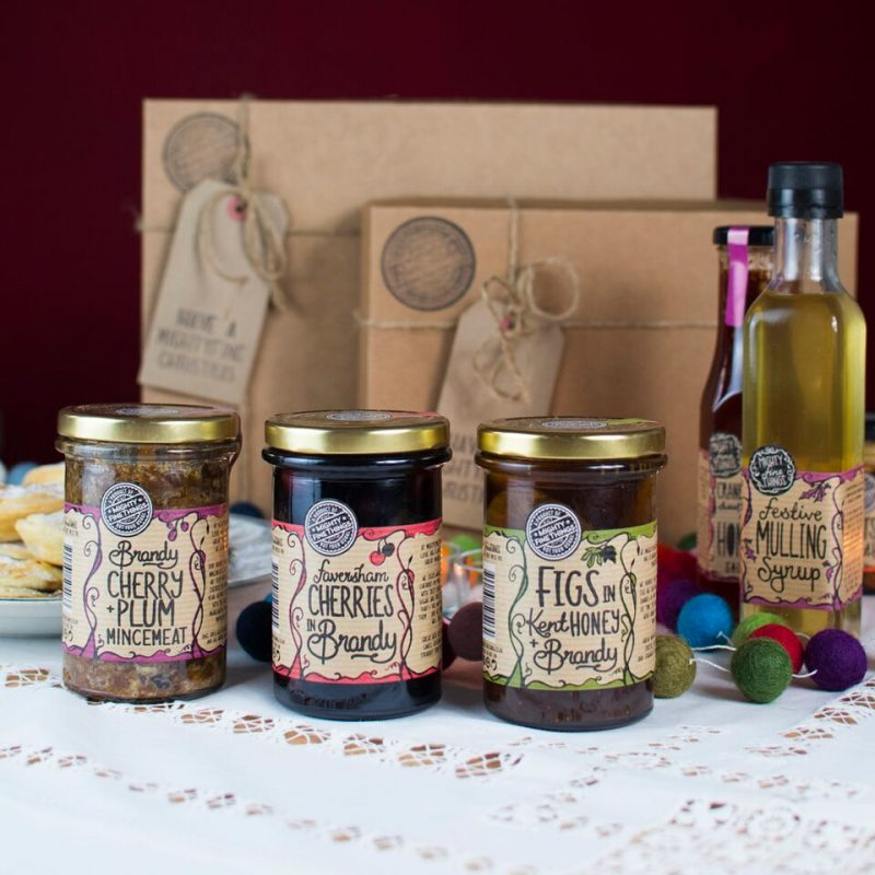 Mighty Fine Things: Locally produced jams and honeys in Faversham, Kent.