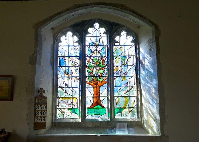 The Allan Beckett memorial window