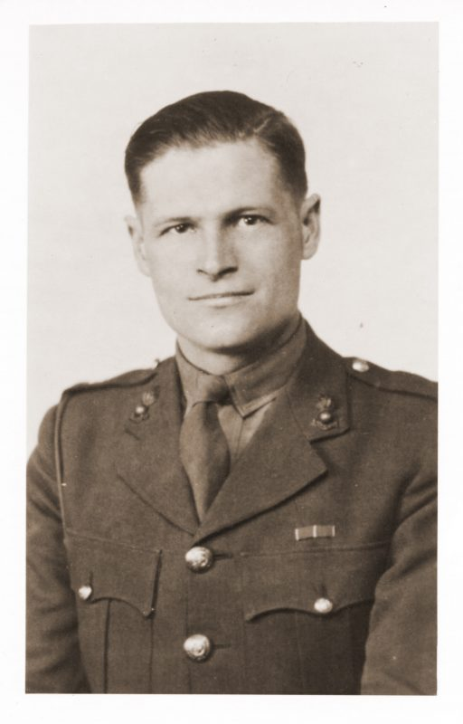 Allan Harry Beckett in 1945