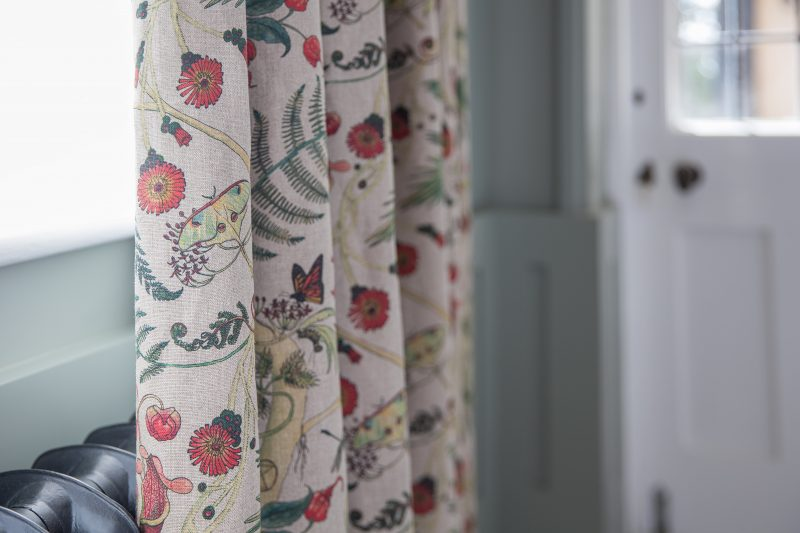 Newton Paisley fabrics, conservation, Susy Paisley