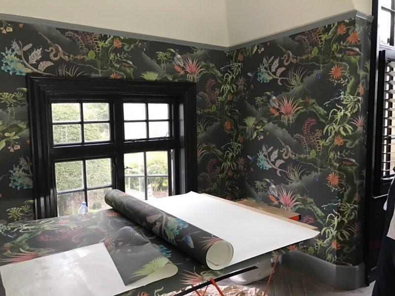Newton Paisley fabrics, conservation, Susy Paisley, wallpaper