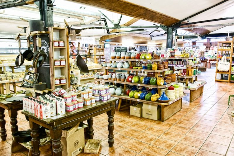 Macknade, farmshop, Faversham, displays, shop, retail, local food