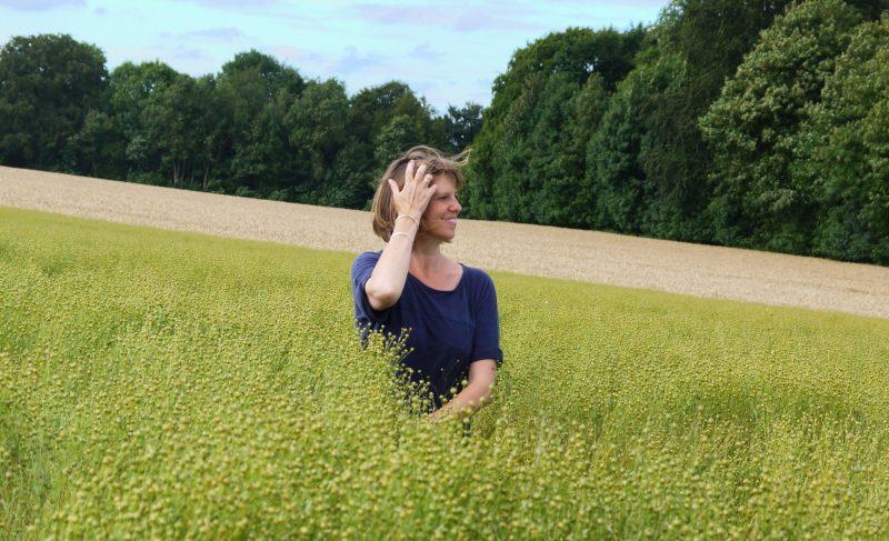 Newton Paisley fabrics, conservation, Susy Paisley, flax