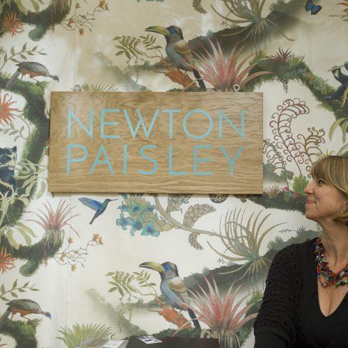 Newton Paisley fabrics Faversham Life