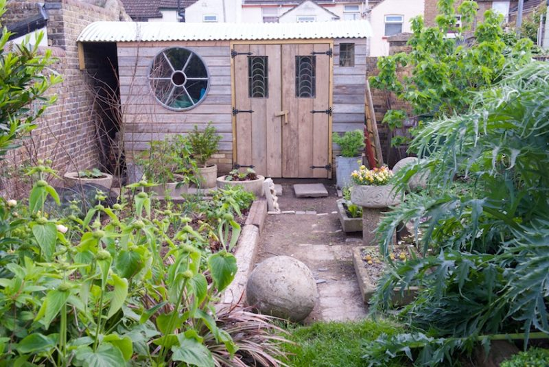 Posy's remarkable and beautiful shed