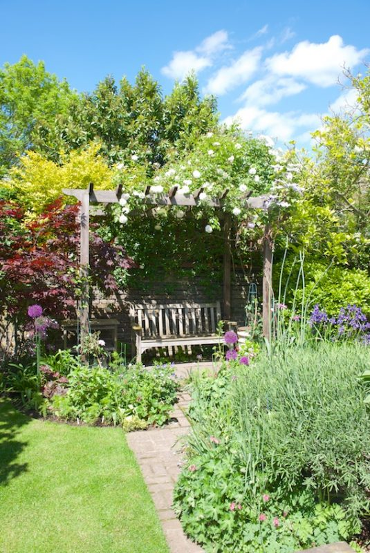 An arbour for quiet contemplation