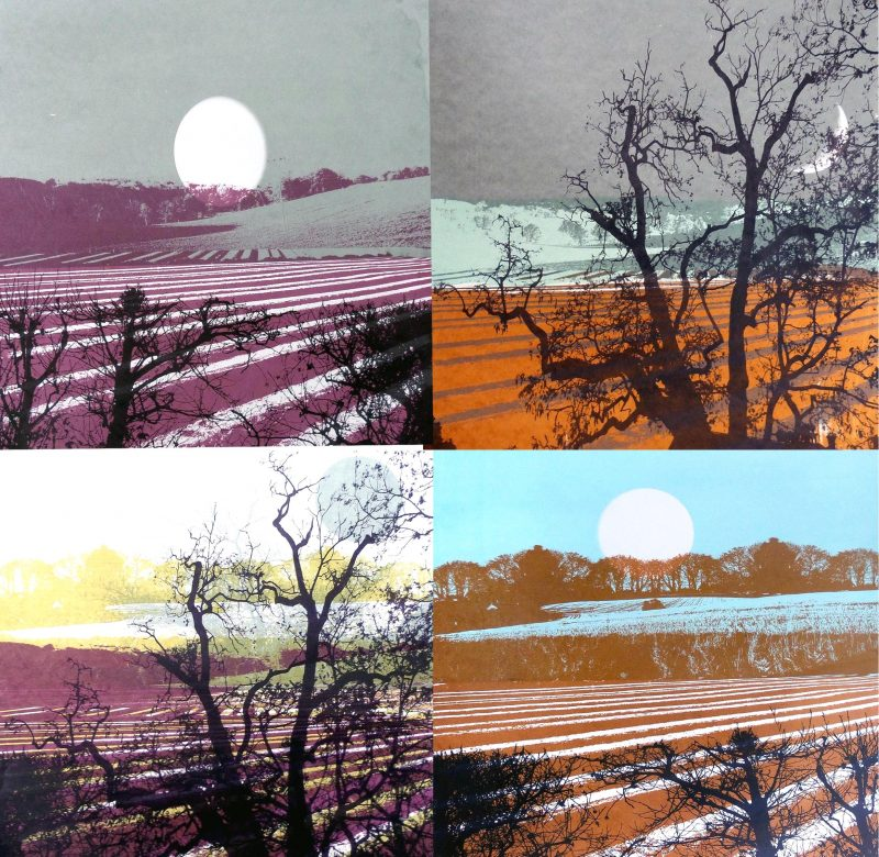 Screen prints of Stalisfield, near Faversham, Artist