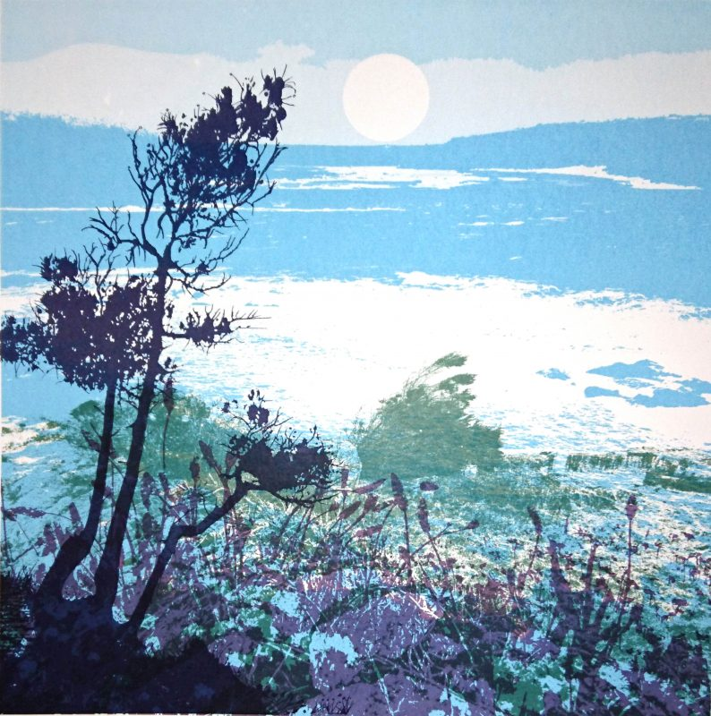 Artist, Ruth McDonald screen print