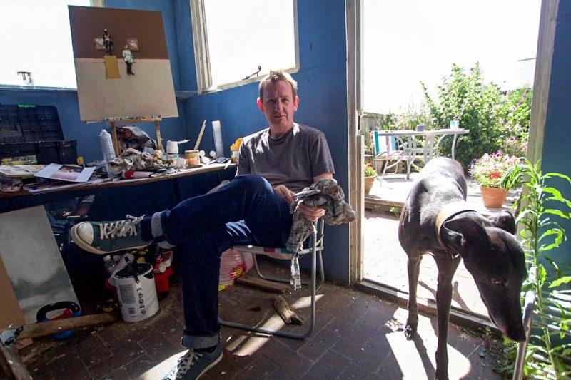 Chris Blunkell, artist, Faversham