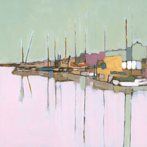 Oare Creek, Christopher Blunkell, artist, Faversham