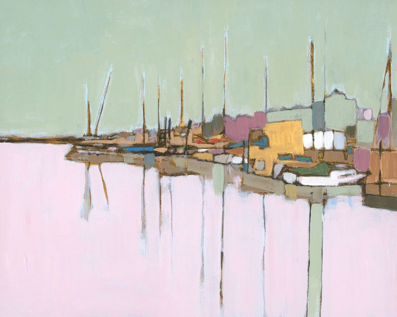 Oare Creek, Chris Blunkell, artist, Faversham