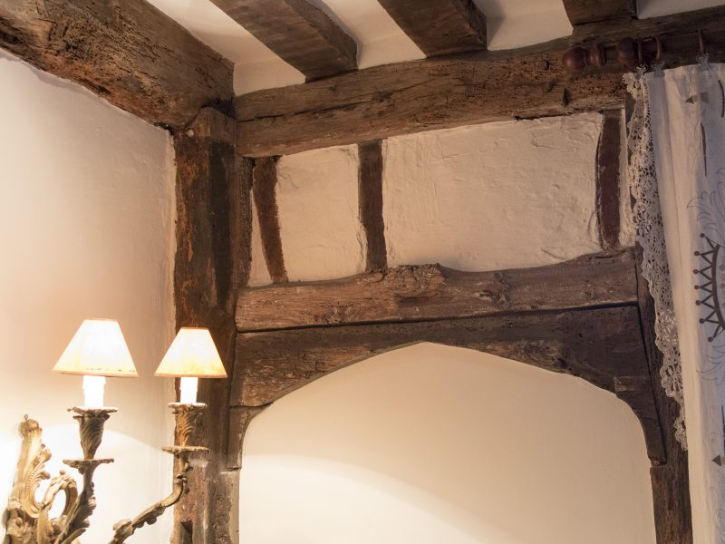 61 West St: 16th century beams in an elegant 21st century setting.
