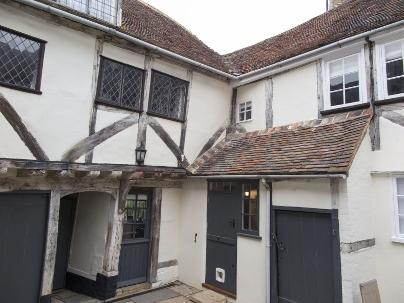 The Old Pharmacy Courtyard and this 15th century town house are hidden behind an inconspicuous 13th century doorway.