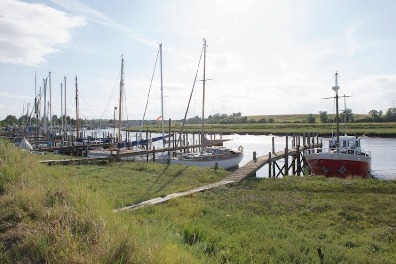 Faversham Creek, walk