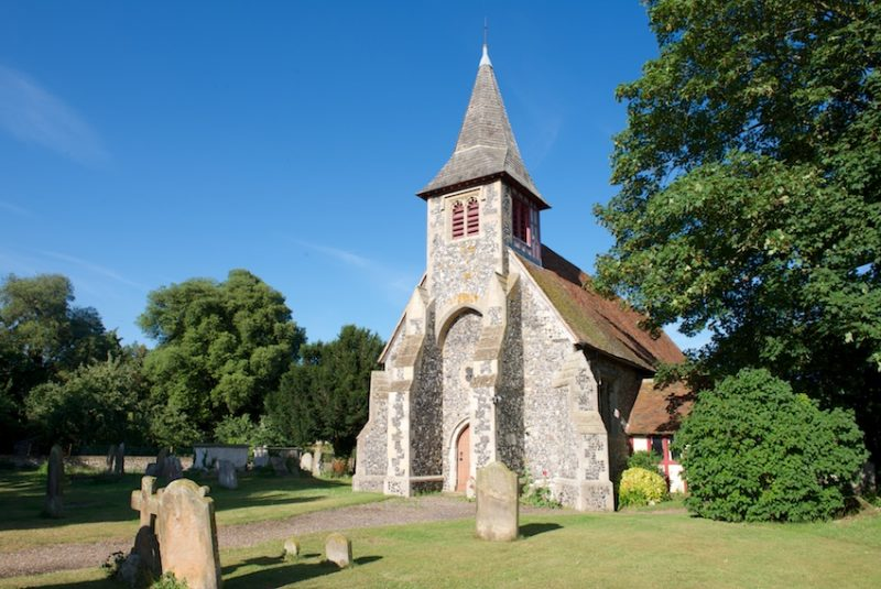 Walk to St Peter's Church, Oare, near Faversham