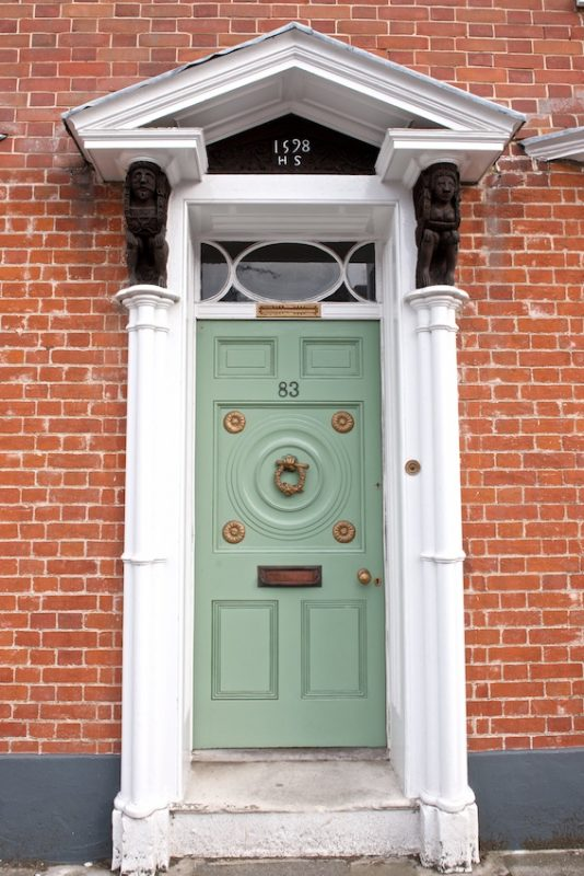 door in Abbey Street