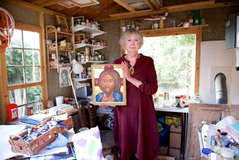 Icon painter, Ann Welch