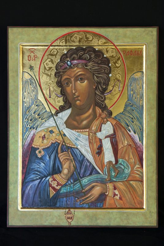 Icon painted by Ann Welch