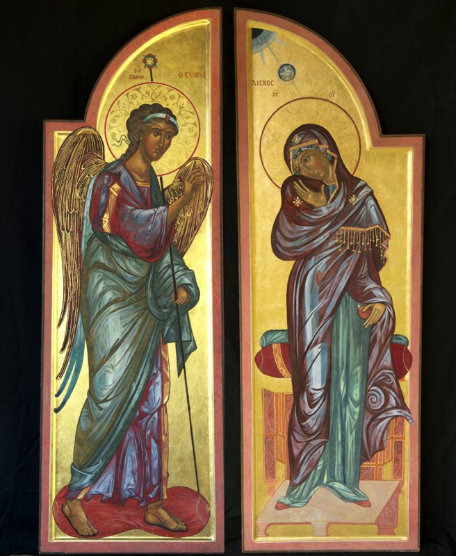icons painted by Ann Welch