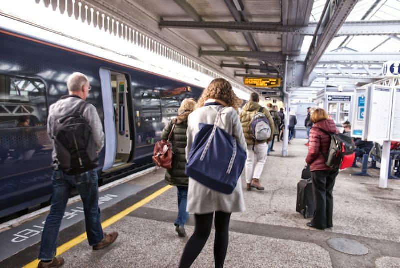 Railway passengers