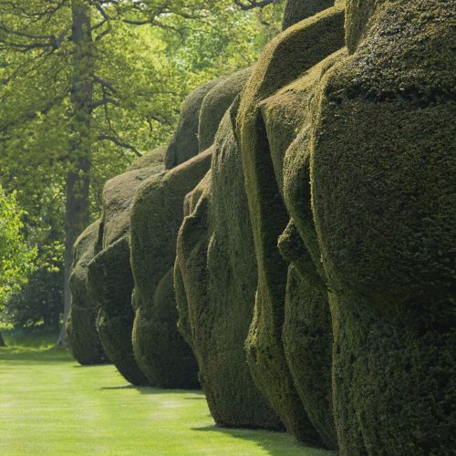 Doddington Place is unequalled for its yew hedges © Clive Nichols