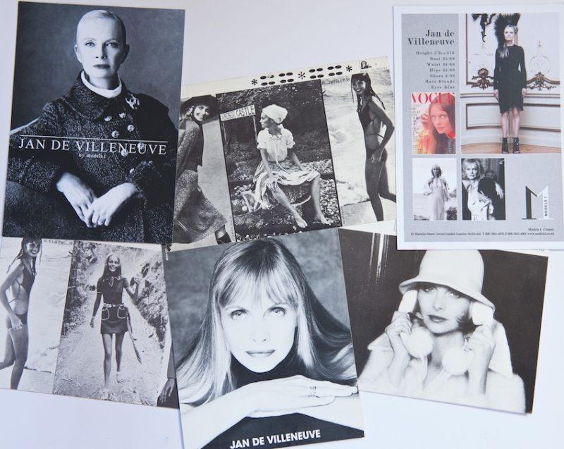 Jan de Villeneuve Snapshots of a career in fashion