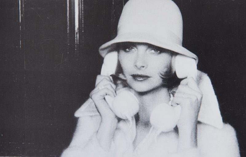 Jan in a photograph taken by David Bailey in the 1970s