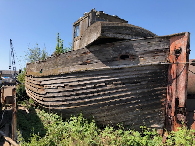 Walk on the marshes: The Boatyard