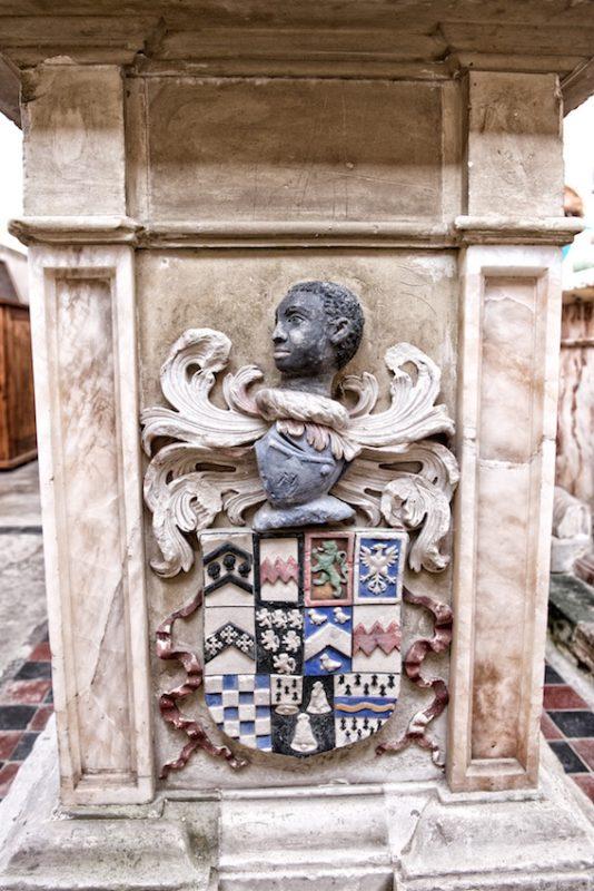 Tomb to Sir Thomas Sondes and his wife, Cecilia Tufton, Throwley Church, Kent