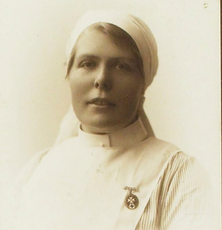 Frances Cross, 1st World War nurse who worked at the Mount, Faversham
