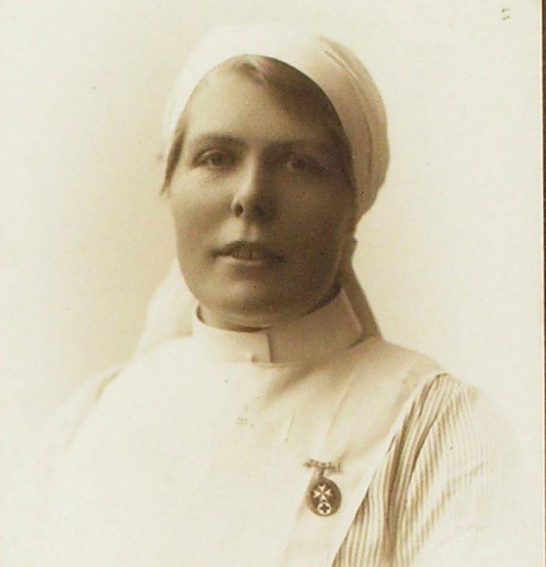 Frances Cross, 1st World War nurse who worked at the Mount, Faversham