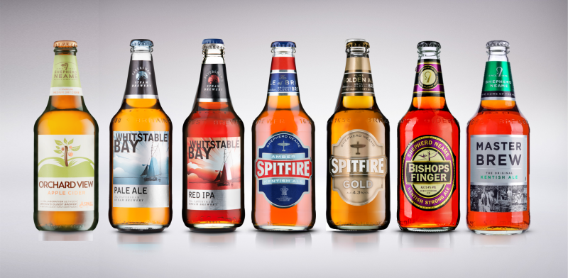 Shepherd Neame beers