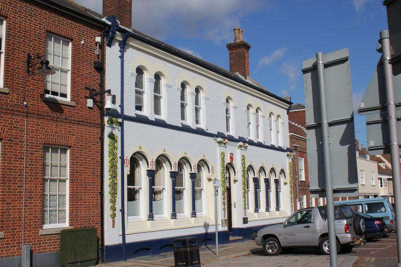 Shepherd Neame's HQ Court St, Faversham