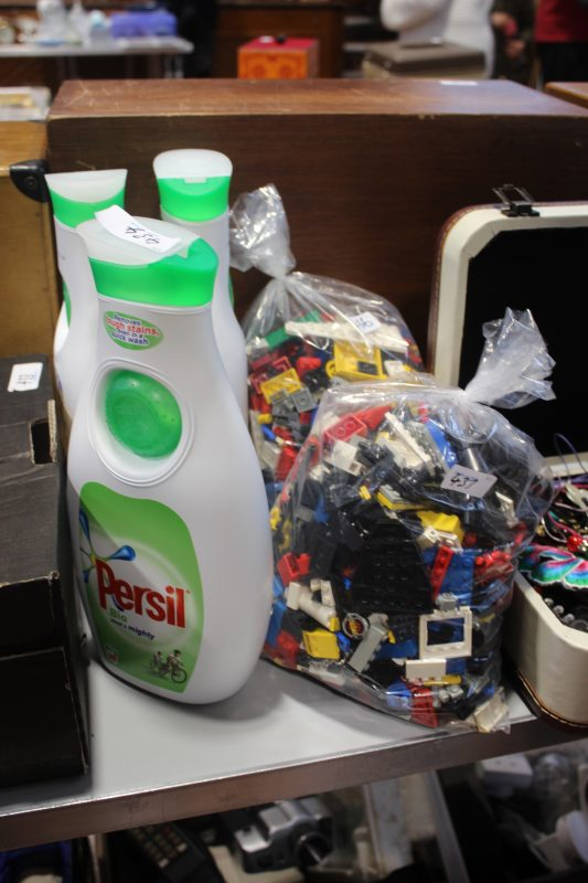 Persil and bags of Lego are unlikely bedfellows at Swale Auctions