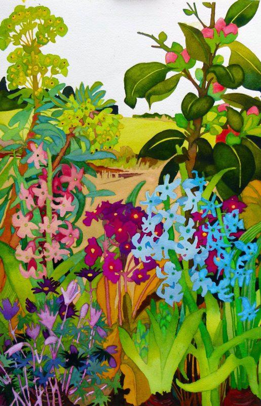 Hyacinths by Liz Bradley