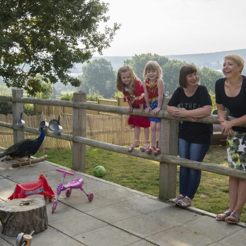 Jo Jell and Vanessa Lott of Farm Work Play, a co-working nursery near Faversham