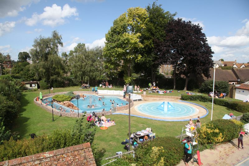 Pools for larking children as well as serious length swimmers