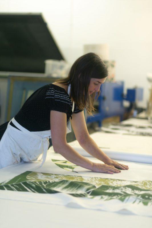 Francesca leads a workshop