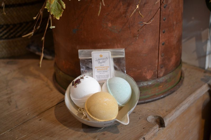 Bath bombs made using natural ingredients by Quintessentially English from Apotheca