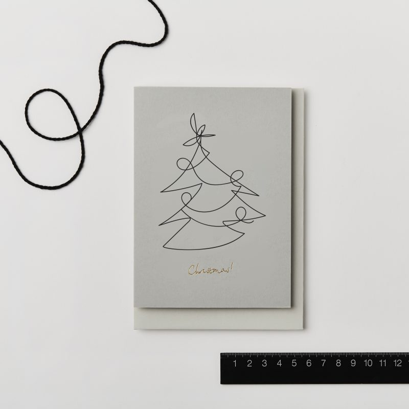 Elegant Christmas cards by Kinshipped