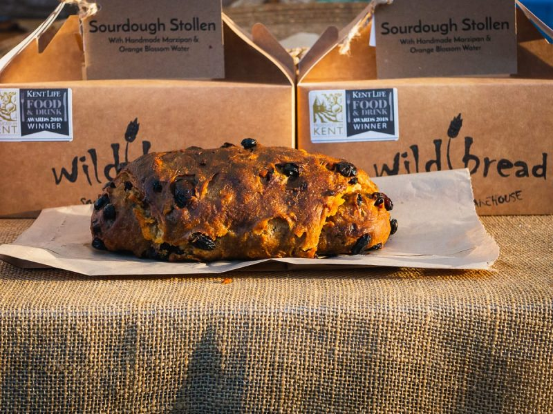 Christmas stollen by Wild Bread